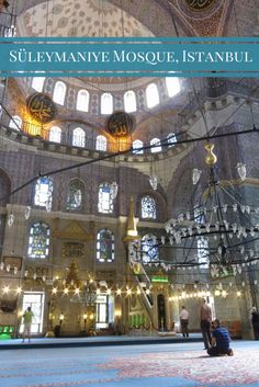 The Süleymaniye Mosque, Istanbul, Turquie - La Mosquée Bleue