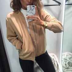 """Alicia Roddy on Instagram: """"Rarely do bomber jackets but this zara one wasn't even questioned and is on it's way home with me"""""""