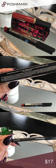 Tarteist Lip paint by Tarte➕ Jonteblu lip liner Tarteist quick dry matte lip paint in xoxo➕ Jonteblu lip liner in Rich Red. NIB. Never used. Tarte Makeup Lipstick