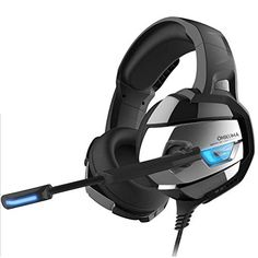 PC Gaming Headset for Xbox One, Stereo USB LED Headphones with Omnidirectional Microphone, Volume Control for Computer Laptop Mac Playstation 4 Best Pc Games, Fun Games, Xbox Pc, Playstation, Laptop Computers, Computer Laptop, Gaming Headphones, Gaming Headset, Usb
