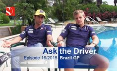 It's the Brazilian Grand Prix! What are our drivers' expectations for Find out how our boys feel about being an inspiration for many kids around the wo. Brazilian Grand Prix, Video Team, Kids Around The World, F1 Season, Baseball Cards, Feelings, Watch, Videos, Boys