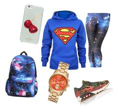 """Untitled #5"" by loredana-cionca on Polyvore featuring NIKE and Kate Spade"