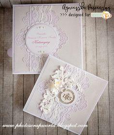 Big Shot, Cute Cards, Communion, Envelopes, Birthday Cards, Frame, Card Ideas, Scrapbooking, Crafts