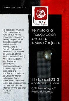 Inauguración 11 abril 2013