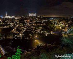 Vista nocturna. #Toledo  #igerstoledo  #estaes_toledo  #fotoledo by fotoledo