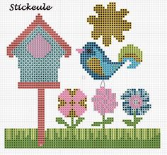 Stickeules Freebies: Frühling