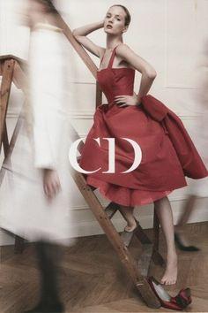 """Mademoiselle Juliette: """"Dior 120th Birthday Card to Vogue"""""""