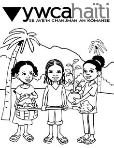 haiti christian coloring pages - photo#2