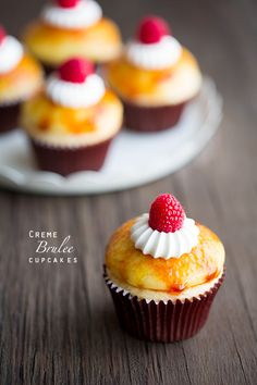 Creme Brulee Cupcakes - Cooking Classy @Jaclyn {Cooking Classy}