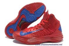 detailed look 54978 02906 Buy New Men s Nike Lunar Hyperdunk 2013 University Red Game Royal  Basketball Shoes Shop