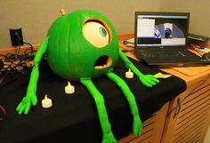 Monster Inc pumpkin