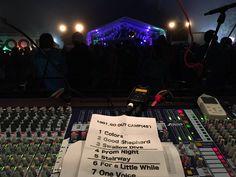 降谷建志バンドプロジェクト始まって、 初のFOHデビュー! 雨の中、集まってくれた GOOUT CAMPファンの皆様、 ありがとうございました! ライブ後に食べたスペアリブは最高でした! #降谷建志 #野外の#桜井食堂 The Voice, Music Instruments, Musical Instruments