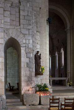Abbaye Sainte Marie aux Dames, Saintes (Charente-Maritime)  Photo by Dennis Aubrey