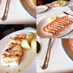 #thechicaway #sansebastian #seafood #larampa #oldtown #portside #hake #catchoftheday #grilledprawns #bakedpotato #greatflavours #ckrunaway