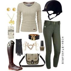 Equestrian lovely outfit