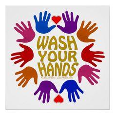 Hand Washing Poster, Art For Kids, Crafts For Kids, Hand Sticker, Poster Design Layout, Preschool Art, Classroom Decor, Kindergarten Classroom, Poster Making