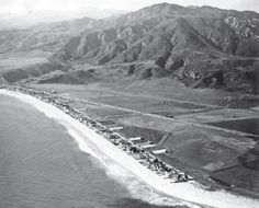 MALIBU COLONY 1932 California History, California Love, Southern California, Santa Monica Mountains, San Fernando Valley, Los Angeles Area, Surf City, City Of Angels, San Luis Obispo