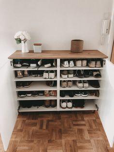 Ikea Leksvik, Diy Storage Bench, Kitchen Storage, Ikea Design, Home Building Design, Home Organisation, Living Room Accents, Home Decor Inspiration, Home And Living