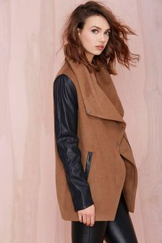 High Profile Coat | Shop Jackets + Coats at Nasty Gal