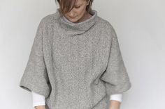 Dig it for myself, probably not just grey and I'd reinterpret the sleeves to bag over tight cuffs