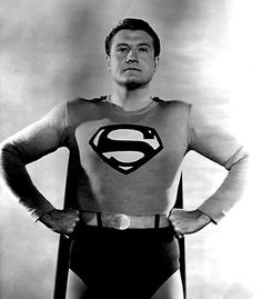 George Reeves, Adventures of Superman, 6 rounds . Old Superman, Original Superman, First Superman, Superman Stuff, Superman Family, Batman, George Reeves, Steve Reeves, Adventures Of Superman