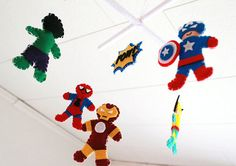Hey, I found this really awesome Etsy listing at http://www.etsy.com/listing/151743210/super-hero-baby-mobile-superhero-baby