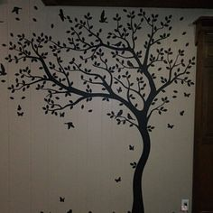Large Tree Wall Decal Huge Tree wall decals Wall Mural Stickers Nursery Tree and Birds Wall Art Tattoo Nature Wall Decals Decor - 001 Name Wall Decals, Wall Decal Sticker, Wall Stickers, Vinyl Decals, Metal Tree Wall Art, Bird Wall Art, Nursery Wall Murals, Tree Decals, Wall Tattoo