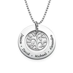 With my pets names. Family Tree Necklace | MyNameNecklace