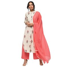 Women's Cotton Straight Kurta Palazzo and Dupatta Set/indian suit/traditional suit for women/kurta set/kurti with dupatta Kurta Style, Kurta Palazzo, A Line Kurta, Kurta With Pants, Salwar Suits Online, Printed Kurti, Trendy Collection, Cotton Pants, Star Fashion