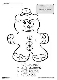 3 coloriages magiques pour les maternelles, pour la venue de Saint-Nicolas ou au moment de Noël.