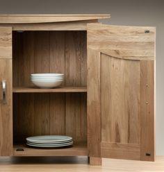 Tokyo Solid Oak Dining Room Storage www.oakfurnitureland.co.uk