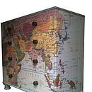 Map Chest Of Drawers I will try and make it.
