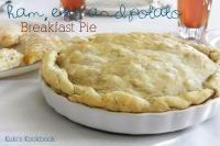 Ham, Egg and Potato Breakfast Pie