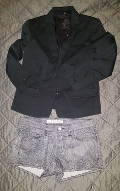 Banana republic  blazer 0p & j brand short size 23 nwot sold as duo #JBrand #shorts23andblazer0p
