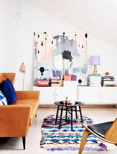 pinterest // prickly pear vintage // vintage inspired living room