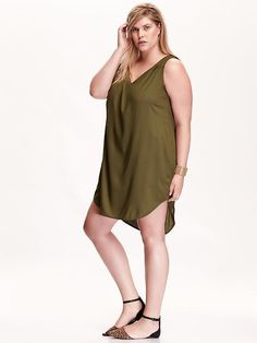 Gotta get ready for fall with this olive shift dress from Old NavyGet it herehttp://bit.ly/1Irt5aq