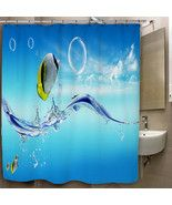Fish Jumping From the Sea Custom Print On Polye... - $35.00 - $41.00