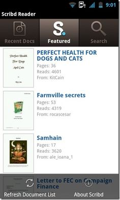 Scribd Reader Is The Official Scribd Document Explorer For Android