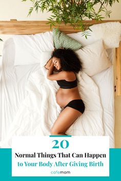 20 Normal Things That Can Happen to Your Body After Giving Birth: Bodies change in seemingly bizarre ways after having a baby -- but these 20 things are actually completely normal. Healthy Starbucks, Depression Support, Postpartum Body, After Giving Birth, Postpartum Depression, Post Pregnancy, Having A Baby, Baby Names, Mom And Dad
