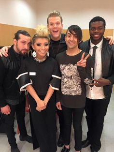 """The of the 'On Monday WY Home"""" tour.  Wrapping up in Japan. A Cappella, Love Again, Just Love, Pentatonix Avi, Mitch Grassi, Music Songs, Cool Bands, Music Is Life, All About Time"""
