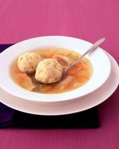 Passover Recipes // Matzo Ball Soup Recipe