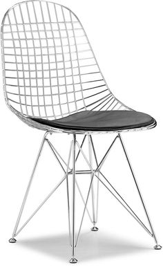 Mace Wire Eiffel Base Dining Chair