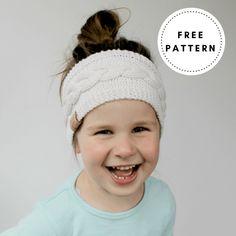 Free Ear Warmer Knitting Pattern