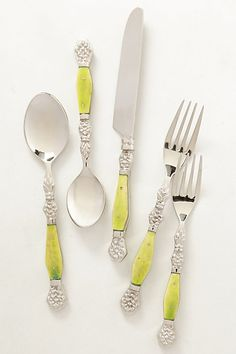 Anthropologie Resplendent Flatware | $36 for a five-piece place setting