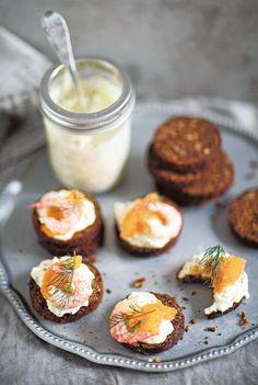 Gubbröra - Kananmuna - Reseptit - Helsingin Sanomat Just Eat It, Savory Snacks, Panna Cotta, Salsa, Side Dishes, Food And Drink, Fish, Dinner, Breakfast