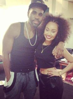 Leigh and Jason Derulo xx