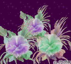 Zöld virágok
