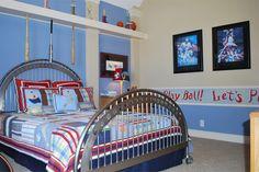 Bedroom.#DTH #DreamHome #kids room #baseball