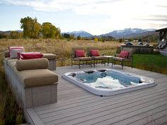 HGTV Dream Home 2012: Hot Tub Deck Pictures : Dream Home : Home & Garden Television