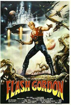Flash Gordon ala Dino DeLaurentiis. Giada's Grandad rocked this movie with the soundtrack by Queen.